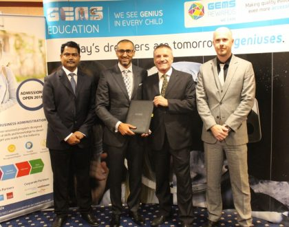 GEMS Education and IMT Dubai have announce a partnership that will offer scholarship exclusively to GEMS students.