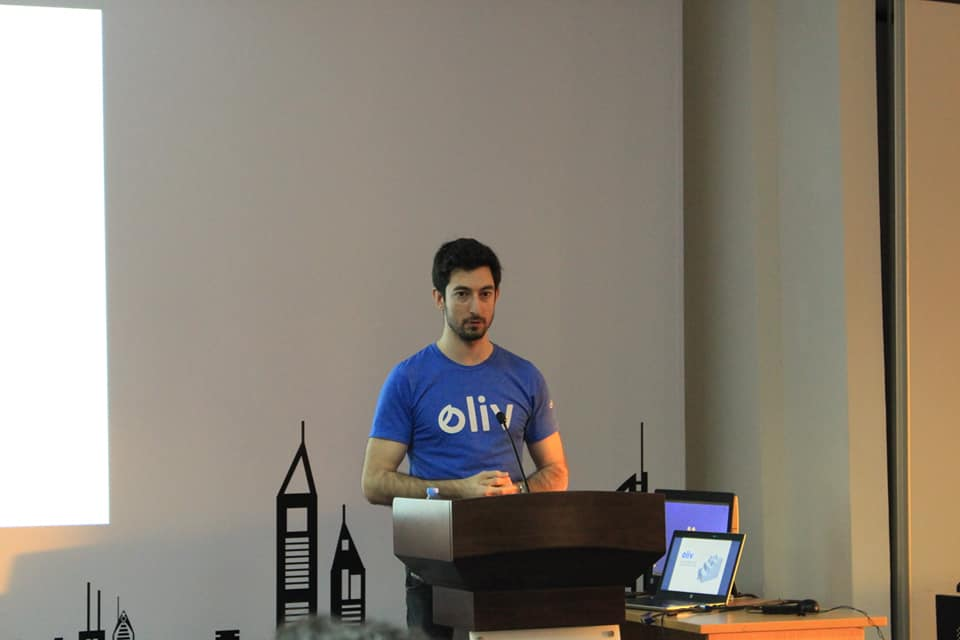 """IMT Dubai hosted Mr. Jean-Michel Gauthier, CEO of Oliv for a workshop on """"Advice on Landing an Internship or Graduate Job in Dubai""""."""