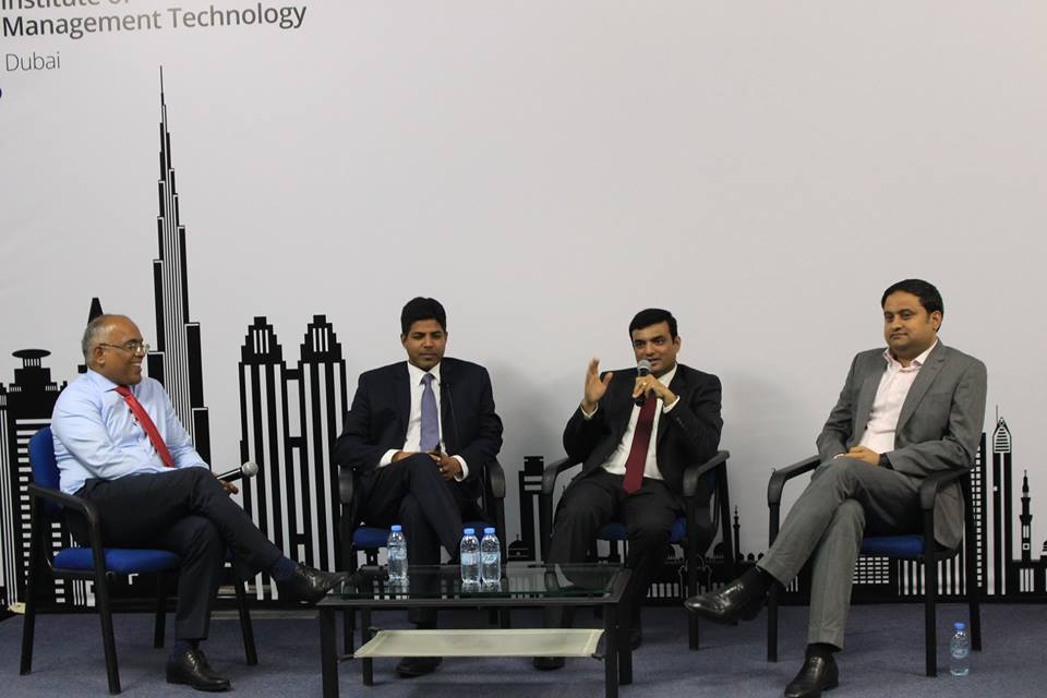 Colloquium 1.0, the panel discussion series of IMT-Dubai