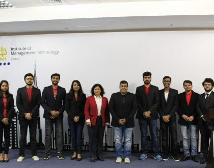 The students of IMT Dubai hosted Mr. Wasim Basir - Director, Integrated Marketing Communication at Coca-Cola MENA