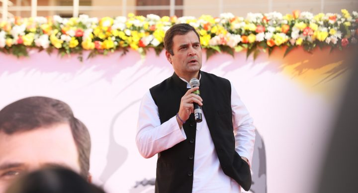 Rahul Gandhi shared a glimpse of India he has envisaged for the future generation with the expat student community in the UAE hosted by IMT Dubai