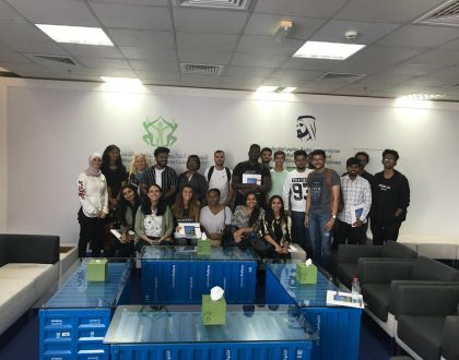 IMT BBA students visited the International Humanitarian (IHC) city