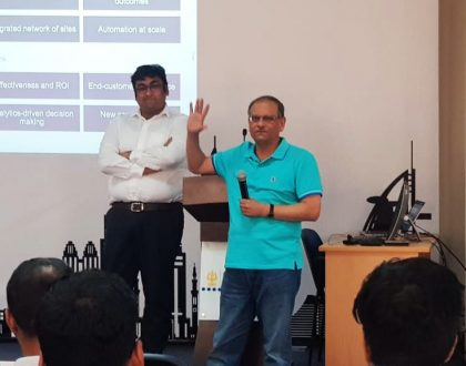 IMT hosted Mr. Jibak Sahu from McKinsey Digital addressed students