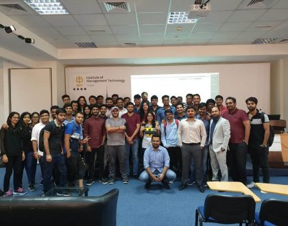 Mr. Yash Kishore from Tally solutions conducted a Tally workshop