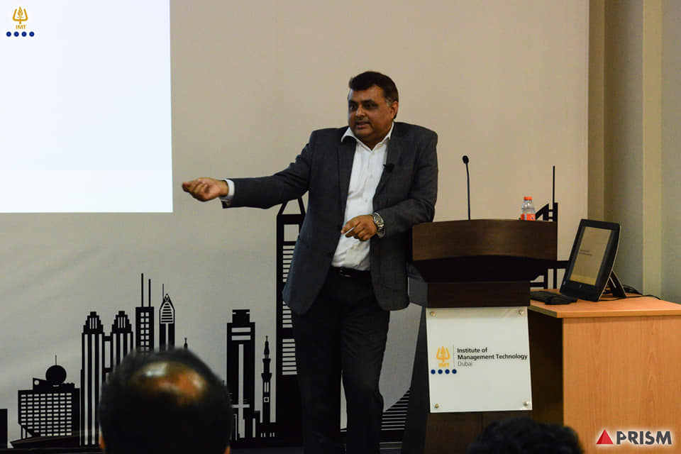 IMT hosted Mr. Arvind Raghav, Director of CRIF Gulf addressed DCP students