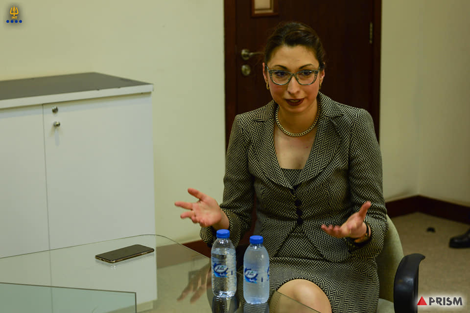 IMT hosted Ms. Victoria Zagorsky,Founder Insight Middle East and Africa
