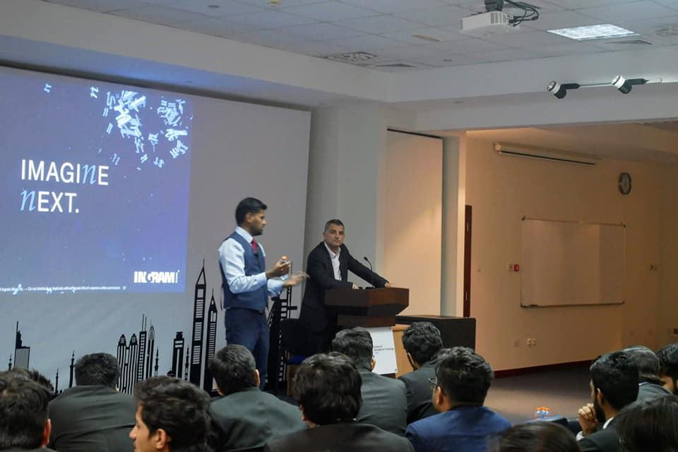 IMT Dubai was delighted to welcome Mr. Marc Kassis, Director and Mr. Praveen Joseph, Cyber Security Trainer