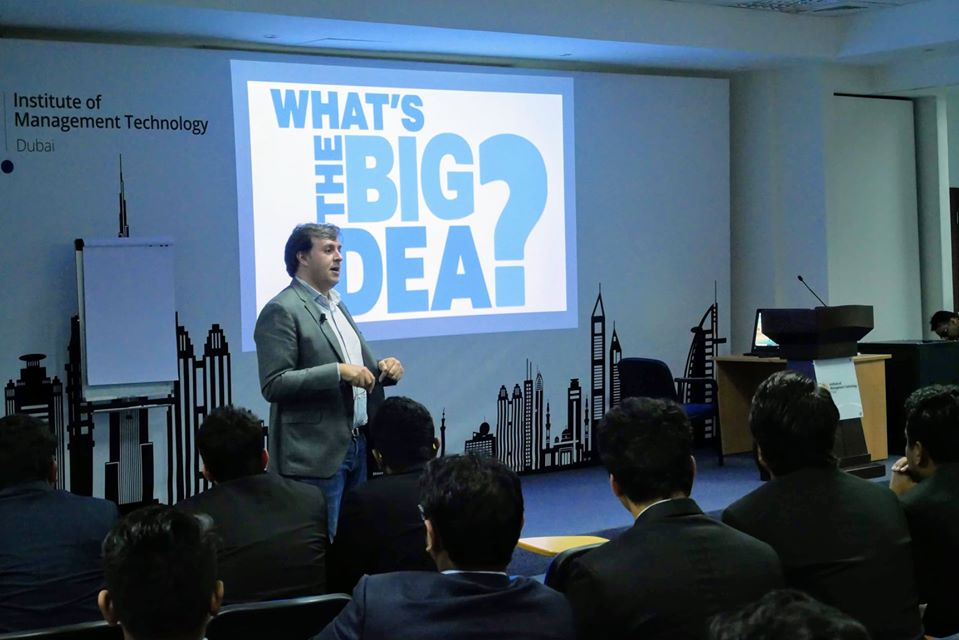 IMT had the pleasure of hosting Mr. Alex Malouf, Corporate Communications Manager at P&G