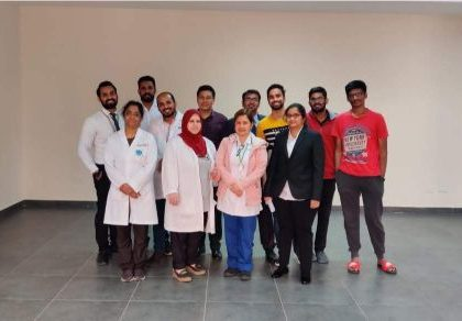 IMT partnered with DHA and DIAC to conduct the Blood Donation camp