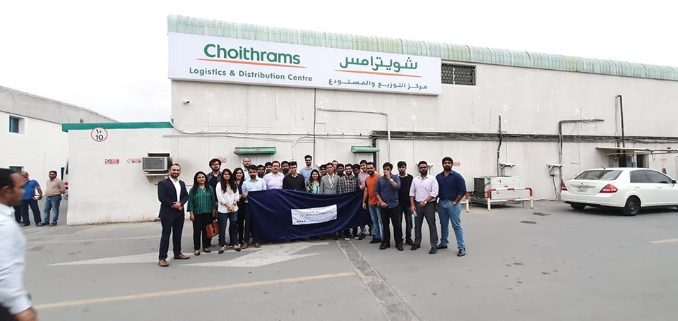 Students of IMT had the opportunity to visit Choithrams as part of the Industryvisit program