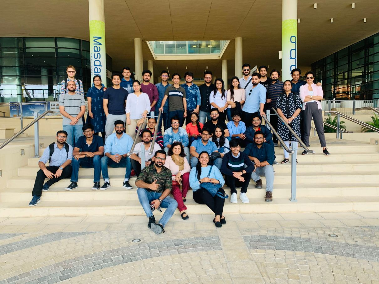 Students of IMT got the opportunity to visit Masdar Cityfor an industrial visit